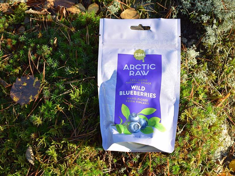 arcticraw blueberries